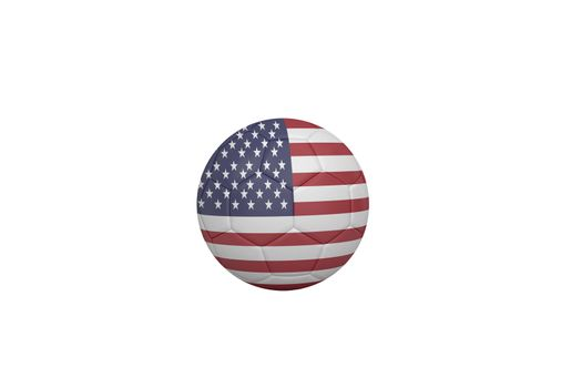 Football in america colours