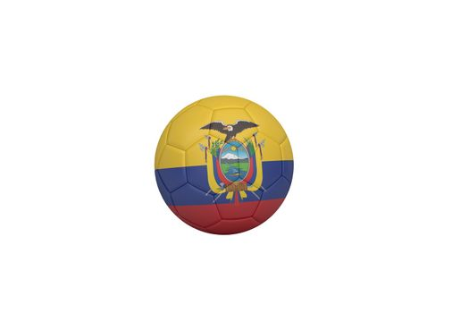 Football in ecuador colours