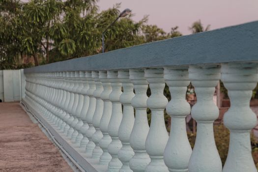 Classic style cast  cement balustrade