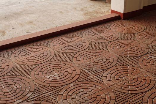Terracota tiled verandah