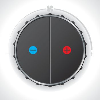 Heat controller gauge
