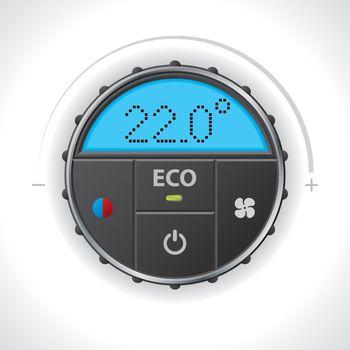 Climatronic gauge design