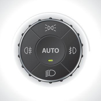 Light control gauge design