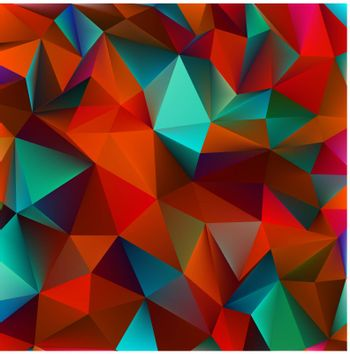 Abstract green and pink. EPS 8 vector file included