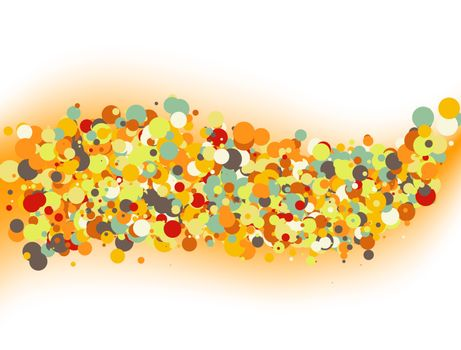 Abstract colorful wallpaper. EPS 8 vector file included