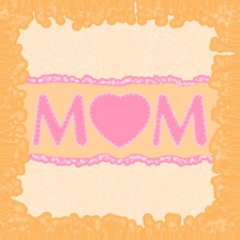 Happy Mother's Day dard template. EPS 8 vector file included