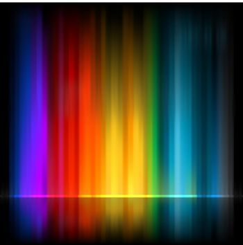 Aurora Borealis. Colorful abstract background. EPS 8 vector file included