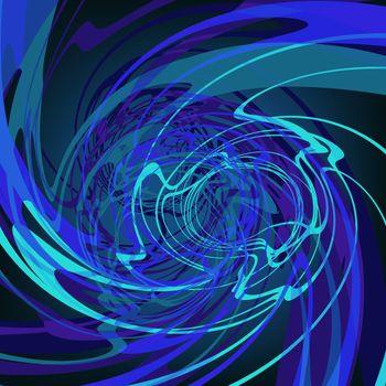Blue abstract stylish fantasy background. EPS8. To see similar visit my portfolio