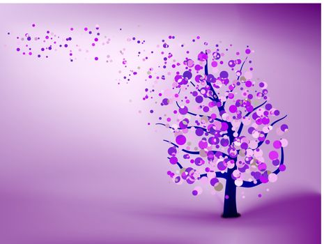 Abstract purple background. EPS 8 vector file included