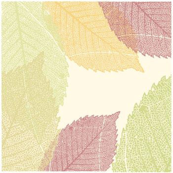 Autumn Leaves Pattern. EPS 8 vector file included