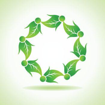 Ecology concept stock vector