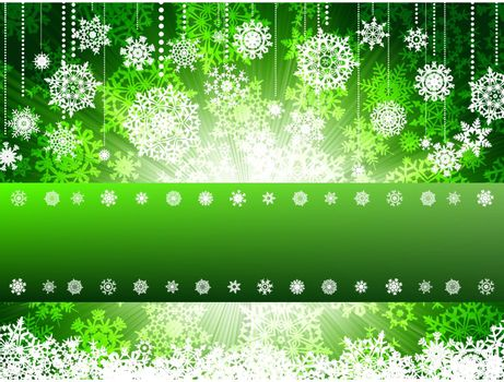 Bright new year and cristmas card template. EPS 8 vector file included