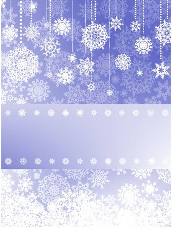 Beige christmas background with christmas snowflake. EPS 8 vector file included