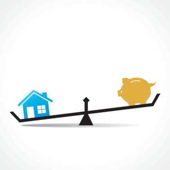 home is more costly than save money ,or compare money and home
