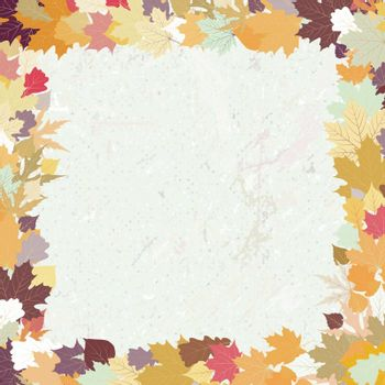 Grunge autumn background. EPS 8 vector file included
