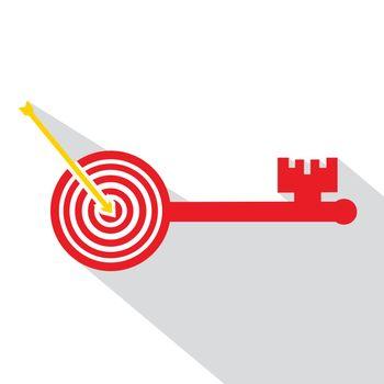 Archery board make key