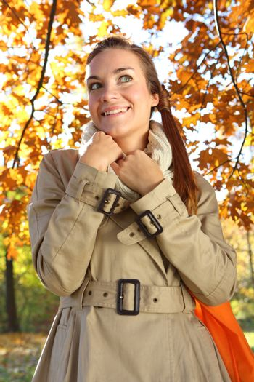 joy in autumn day