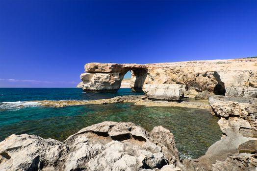Azure Window on Gozo Malta horizontal