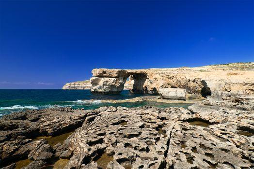Azure Window on Gozo Malta horizontal and wide