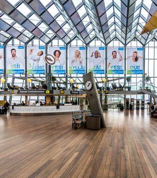 Transit hall Arlanda airport