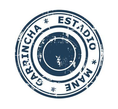 Estadio Mane Garrincha Stamp