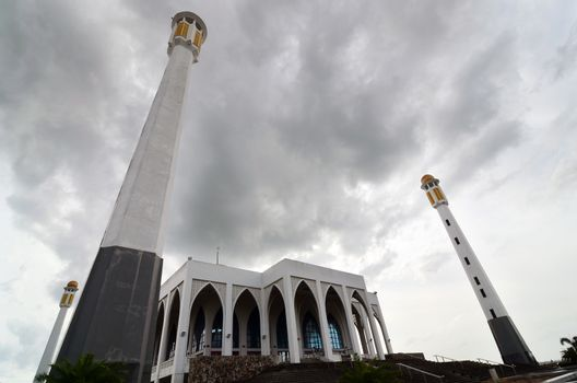 Great Central mosque of Songkhla, Thailand