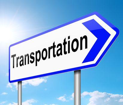 Transportation concept.