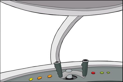 Fantasy Plane Cockpit