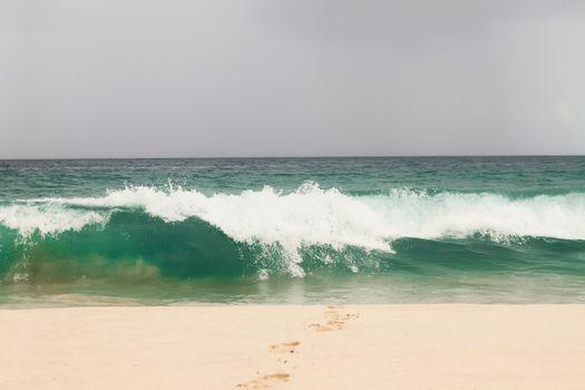 Big waves in rough seas