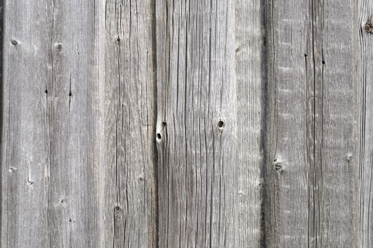 Close up of old grey wooden background