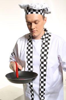 Crazy cook.