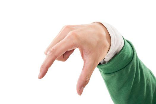 pick up gesture