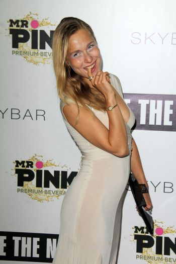"""Lena Gora at the """"Free The Nipple"""" Fundraising Event, Skybar, West Hollywood, CA 06-19-14/ImageCollect"""