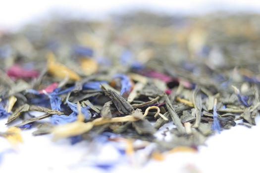 Coloured tea