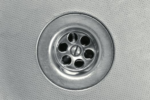 drain close-up