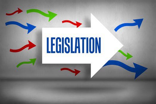 Legislation against arrows pointing