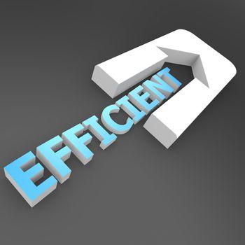 Efficient arrow