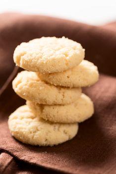 Cookies on napkin