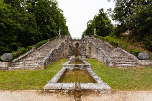 La Roche Courbon  castle in charente maritime region of France