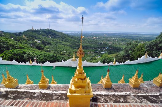Landscape View from Mandalay Hill, Myanmar