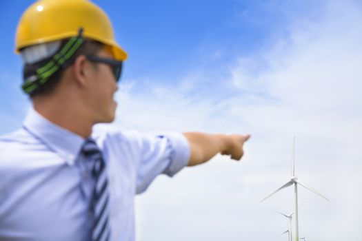 professional engineer point the wind generator
