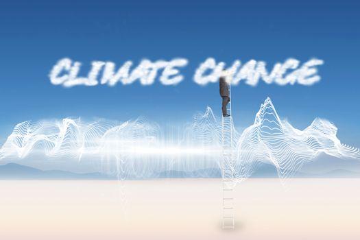 Climate change against energy design over landscape
