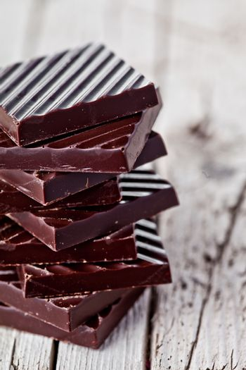 stack of chocolate sweets