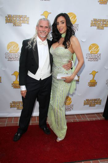 Camden Toy, Valerie Perez at the 40th Annual Saturn Awards, The Castaway, Burbank, CA 06-26-14/ImageCollect