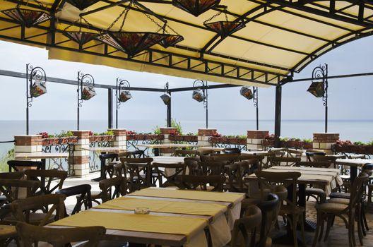 Photo of the Sea Horizon Outdoor Cafe Interior