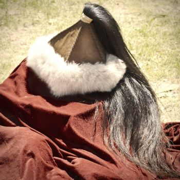 Ancient Warrior Leather anf Fur Bulgaria Hat
