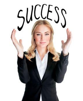 Successful people concept
