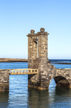 castle Castillo de San Gabriel in Arrecife, Lanzarote, Canary Islands