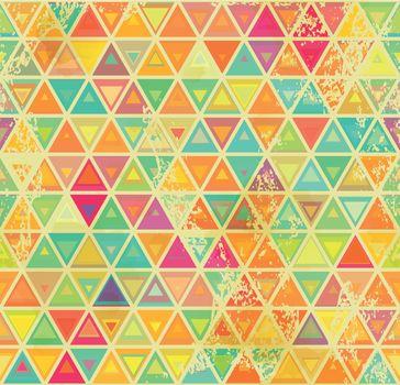 Triangular vintage grange seamless
