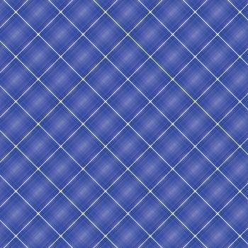 Seamless cross blue shading diagonal pattern, stock vector